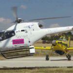helikopter w trakcie eventu